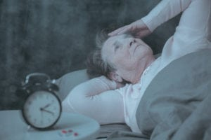 Home Care in Deerfield IL: Alzheimer's and Sleep Problems